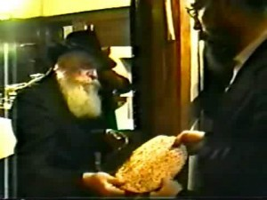 distributing Matzos